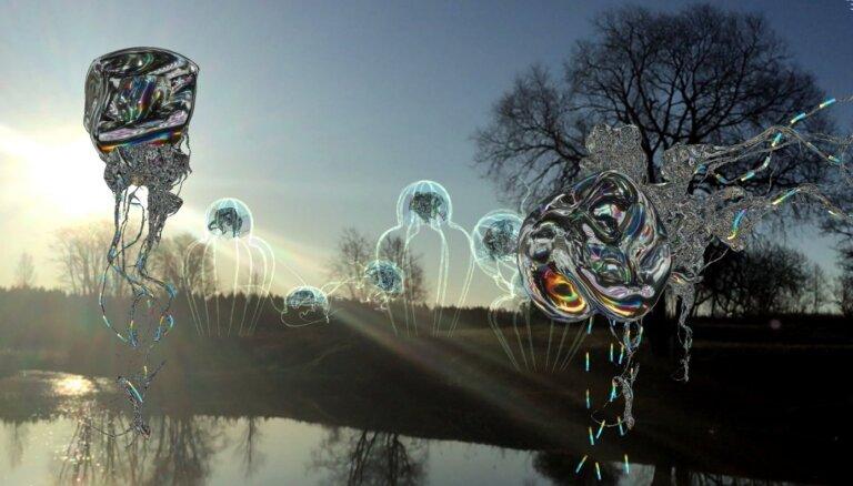Atklās mākslinieka Ginta Gabrāna jaunu virtuālo skulptūru projektu