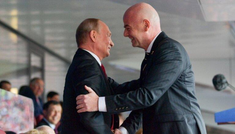 Глава ФИФА Инфантино: Россия проводит лучший чемпионат мира в истории футбола