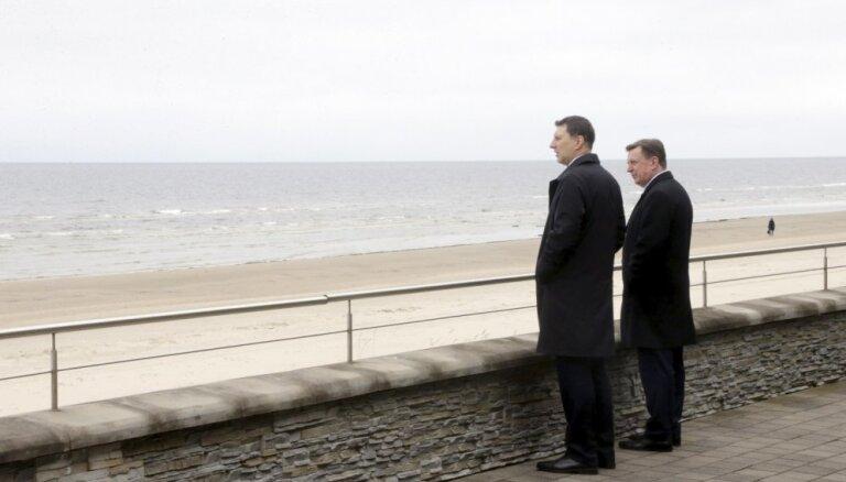 Президент: граница Латвии не должна стать новым путем беженцев в Европу