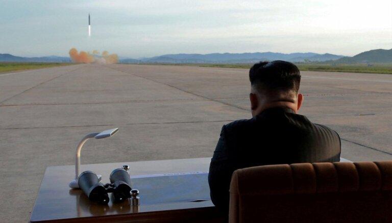 Kima Čenuna gāzēji uzņemas atbildību par uzbrukumu Ziemeļkorejas vēstniecībai Madridē