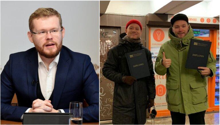 Mārtiņš Daugulis izaicina Eilandu un Breidaku iegūt augstāko izglītību