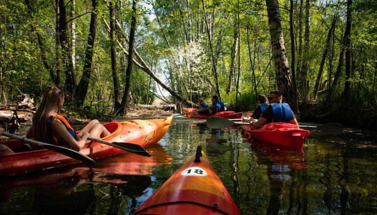 Latgalē tapis jauns tūrisma piedzīvojums: 15 kilometrus garš laivošanas maršruts