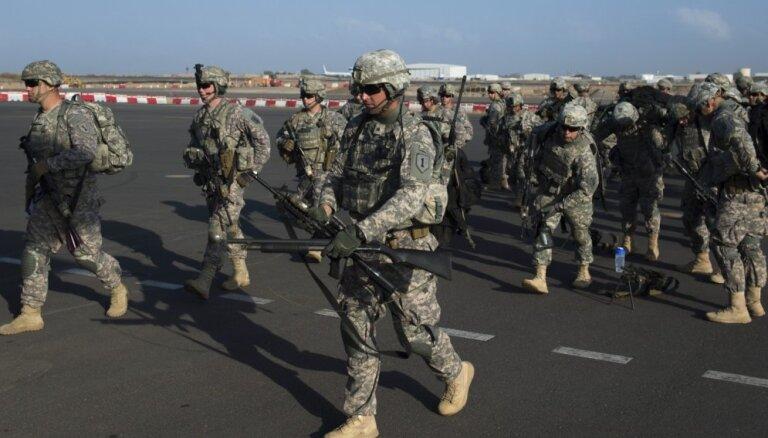 ASV apstiprina papildus 1500 karavīru nosūtīšanu uz Tuvajiem Austrumiem