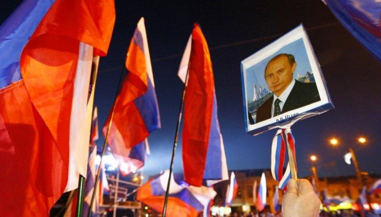 Daugavpilī slēdz Krimas aneksiju slavinošu izstādi, vēsta laikraksts