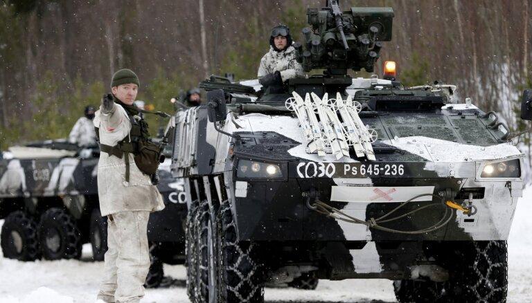 ВИДЕО: Латвия наладит с финнами совместное производство шестиколесных броневиков Patria