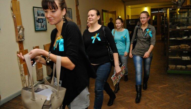 Jelgavā sākušies studentu 'nemieri'