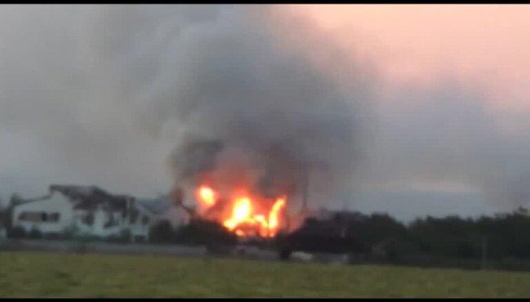 Apšaudes Luhanskā