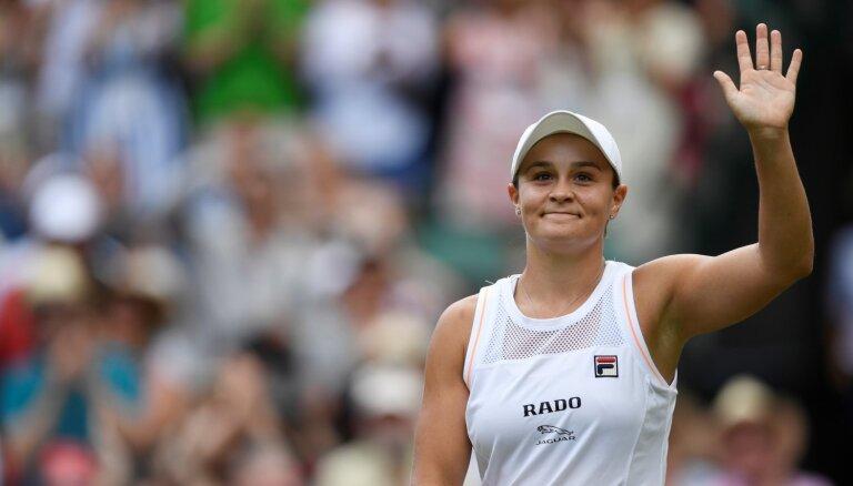 Bārtija ar uzvaru sāk pirmo 'Grand Slam' ranga līderes godā