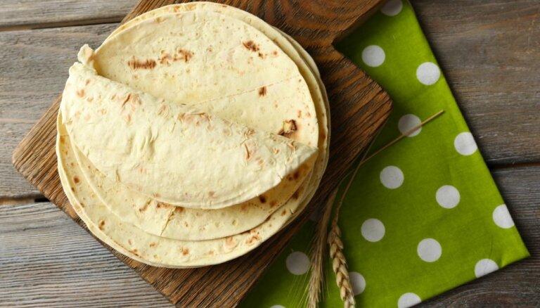 Mājās gatavoti tortilju plāceņi – ātri un vienkārši. Padomi un receptes izmanošanai