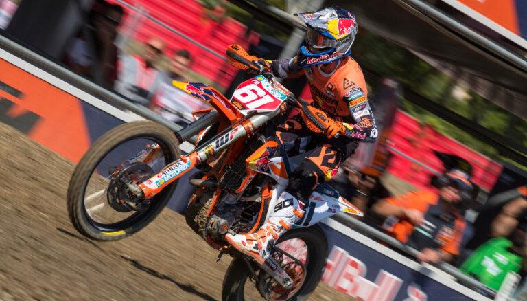 Jonasam titulu atņēmušais Prado izcīna uzvaru pasaules motokrosa čempionāta Itālijas posmā