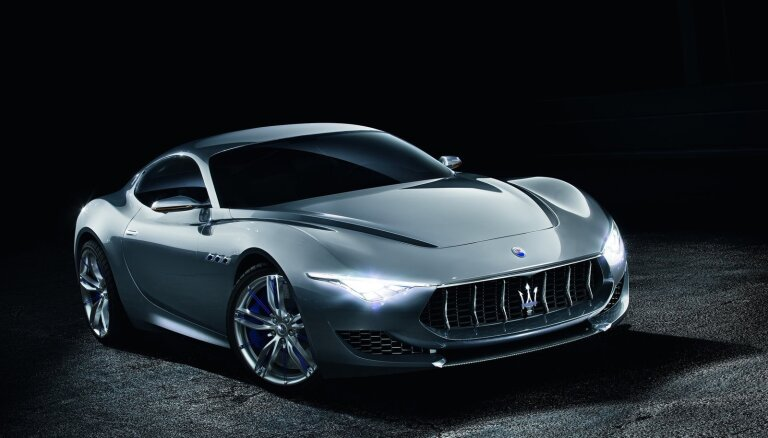 Itāliešu sportisko auto marka 'Maserati' uzsāks elektromobiļu ražošanu