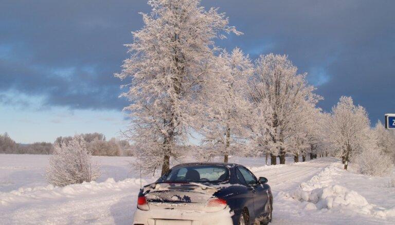 Rēzeknes apkaimē - biezākā sniega sega kopš 1996.gada