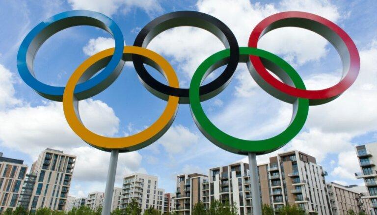 Ceturtdien uz Londonu dosies 20 Latvijas olimpiskās komandas pārstāvji