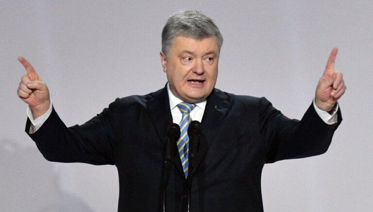 Порошенко объявил об участии в выборах и отказался вставать перед Путиным на колени