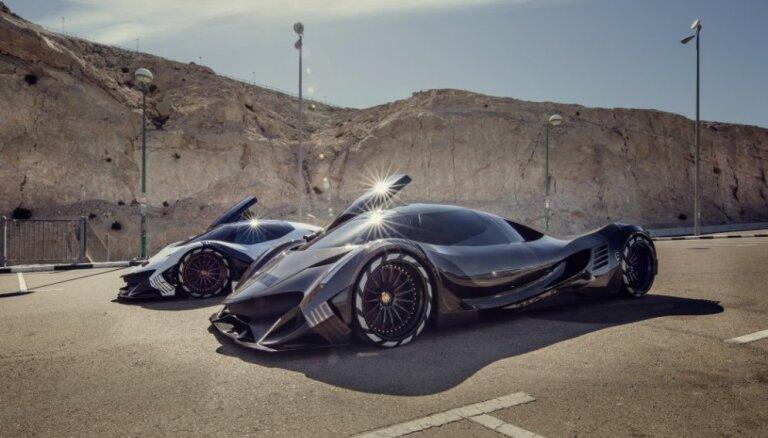Pēc 5007 ZS jaudīgā arābu superauto 'Devel' rindā jāgaida divus gadus