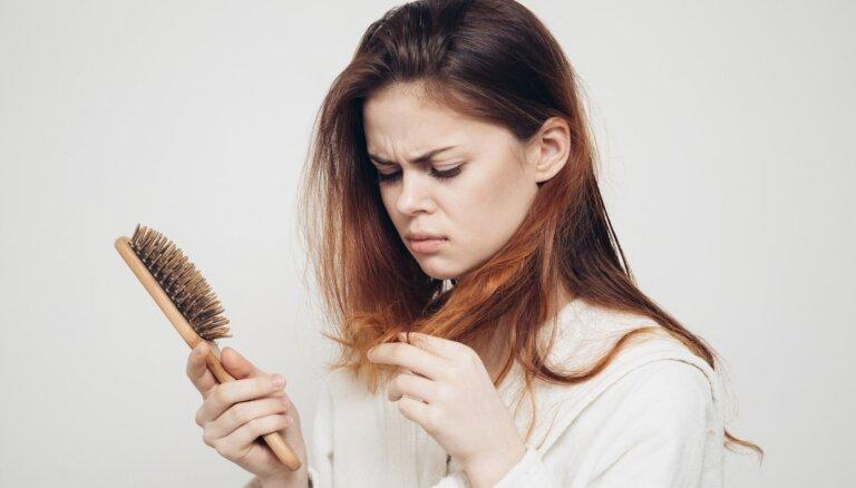 Опрос: каждый четвертый житель Латвии сталкивался с выпадением волос