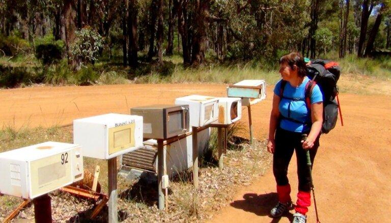 Praktisks ceļojuma stāsts: 720 kilometrus garš pārgājiens Austrālijā