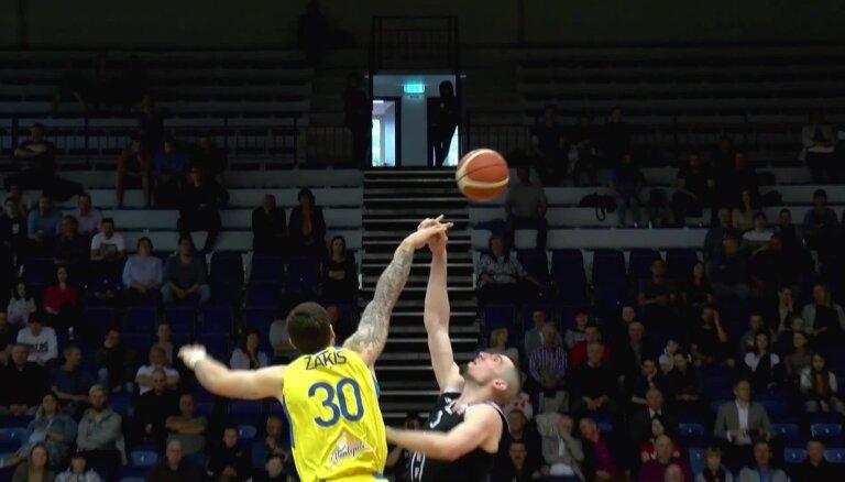 'OlyBet' LBL fināla piektā spēle: 'VEF Rīga' - 'Ventspils'. Spēles labākie momenti (17.05.2019.)