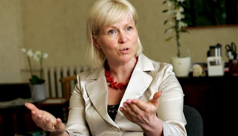Kultūras ministre LNO kora streiku nekomentē, tiksies ar Žagaru