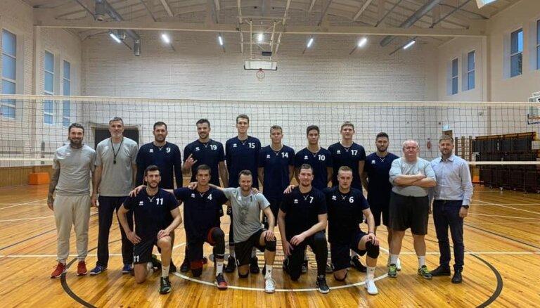 'RTU Robežsardze'/'Jūrmala' komandu papildinājuši Ukrainas un Argentīnas volejbolisti