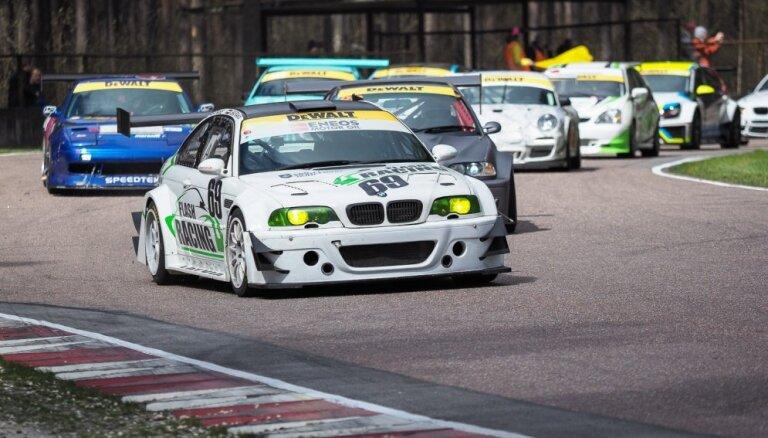 Batraks, Vanks un Pūsts izcīna uzvaras Baltijas autošosejas čempionāta 1. posmā Biķernieku trasē
