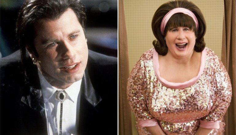 Džona Travoltas pārvērtības – no Vinsenta Vegas līdz 'Matu lakas' Ednai