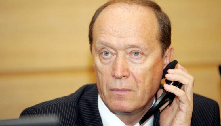 Latvija vēl nav saņēmusi informāciju no Krievijas par vēstnieka maiņu