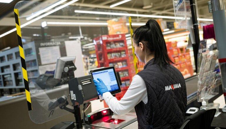 Maxima: средний чек латвийцев вырос на 30%