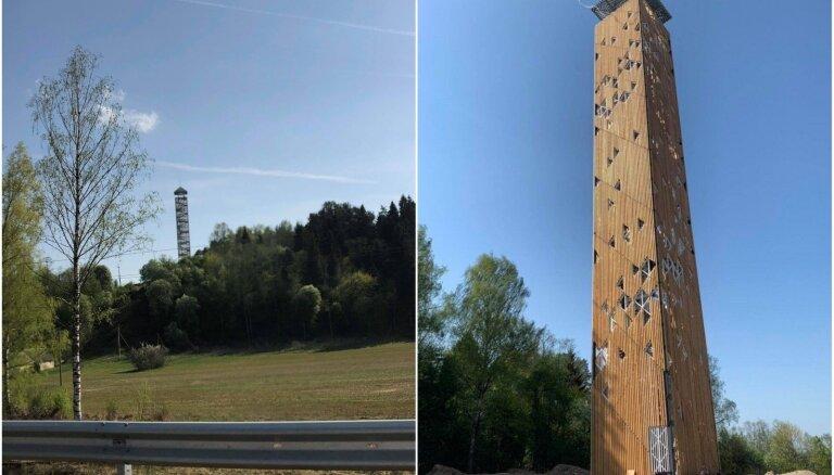 ФОТО. В Литве построена самая высокая башня обозрения