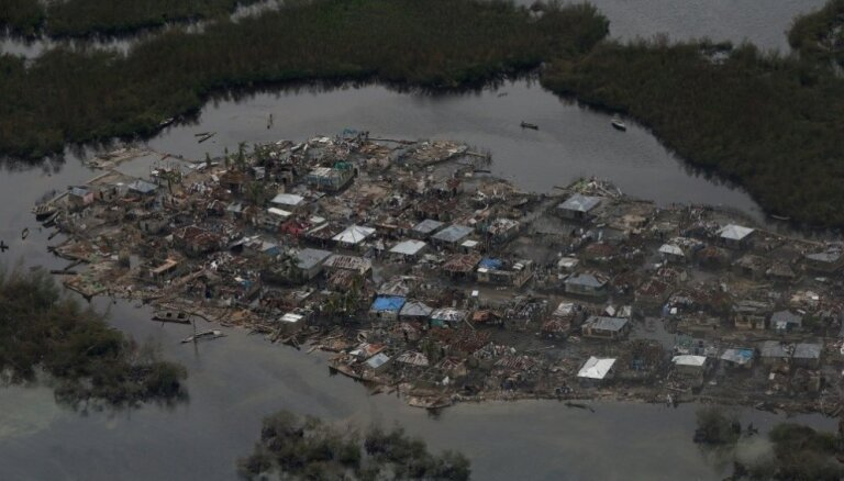 Viesuļvētrā 'Metjū' Haiti gājuši bojā vismaz 283 cilvēki