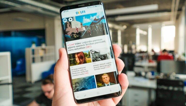 Latvijā sākta jaunā 'Samsung' flagmaņa viedtālruņu tirdzniecība