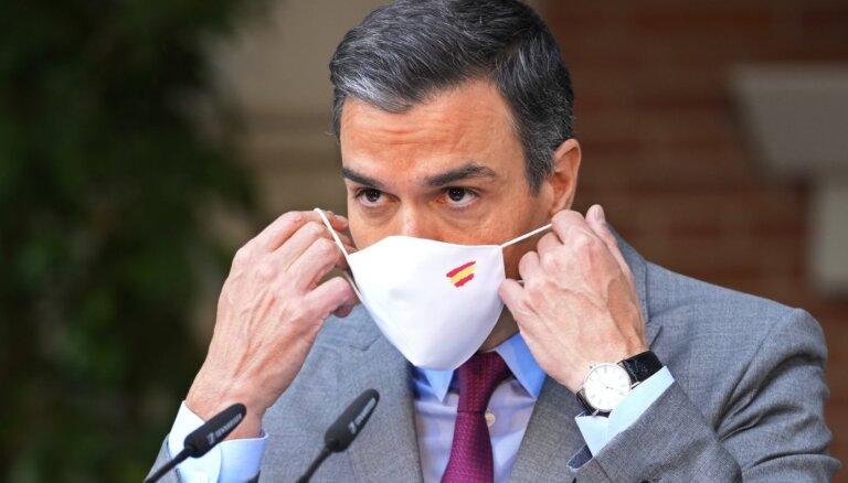 Spānija apžēlo deviņus notiesātos katalāņu līderus