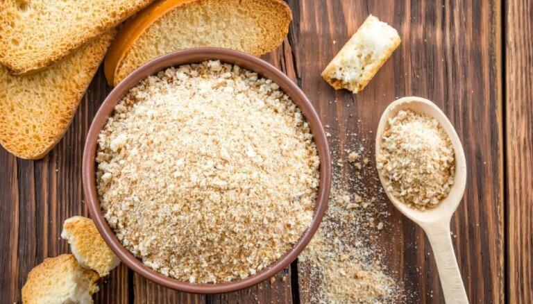Kā pagatavot smalku rīvmaizi un to dažādi pielietot
