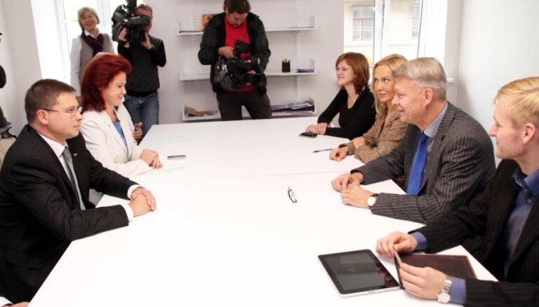 Партнеры предложили правительство национального единства