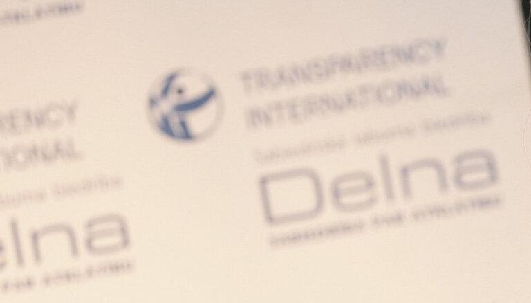 Delna: В Латвии очевиден серьезный риск политической коррупции