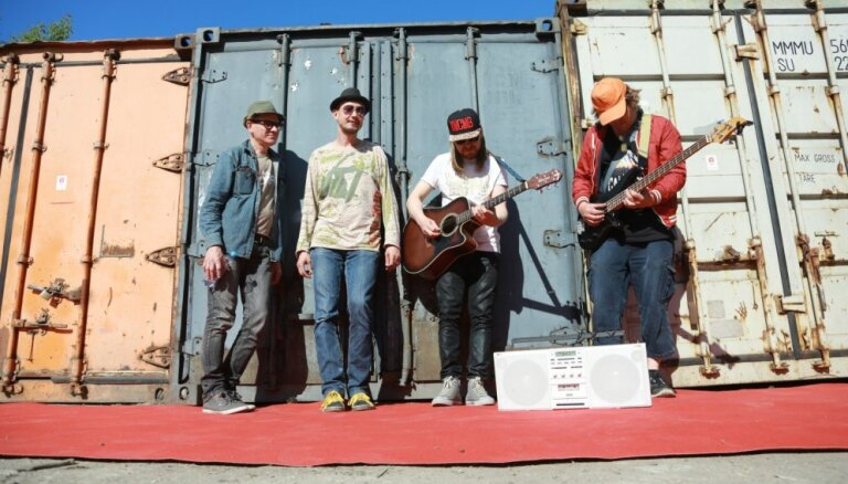 Grupa 'The Hobos' izziņo labāko dziesmu koncertu 'Palladium'