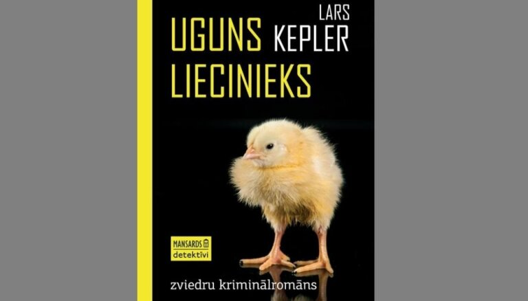 Iznācis Lārsa Keplera kriminālromāns 'Uguns liecinieks'