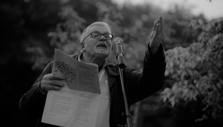 Mūžībā devies izcilais dzejnieks un tulkotājs Uldis Bērziņš