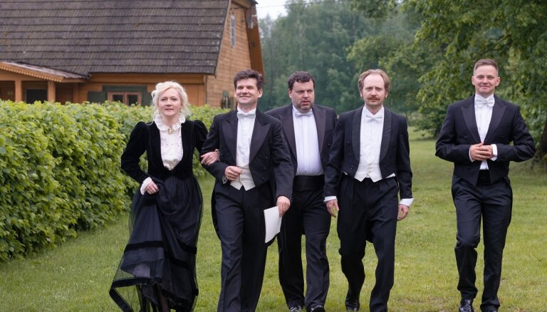 Mūzikas namā 'Daile' pirmizrādīs Viļa Daudziņa 'Plūdons un upes Dievs'