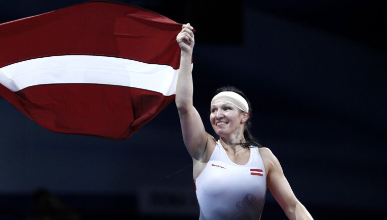 Григорьева принесла Латвии шестую медаль на Европейских играх и первое золото