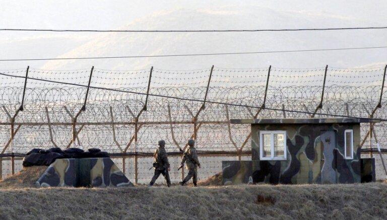 Житель КНДР сбежал в Южную Корею, перепрыгнув трехметровый забор