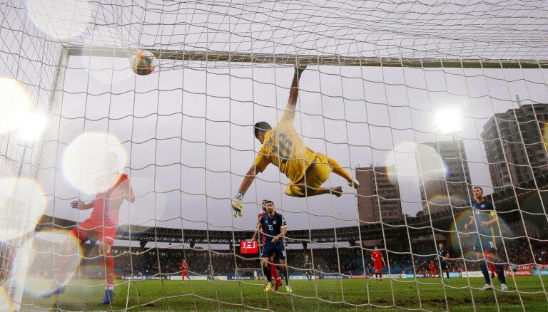 Armēnijas futbolistiem negaidīta uzvara pār Bosniju un Hercegovinu