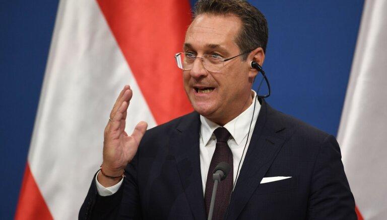 Ar 'Casinos Austria' saistītā izmeklēšanā veikta kratīšana bijušā Austrijas vicekanclera Štrahes mājā