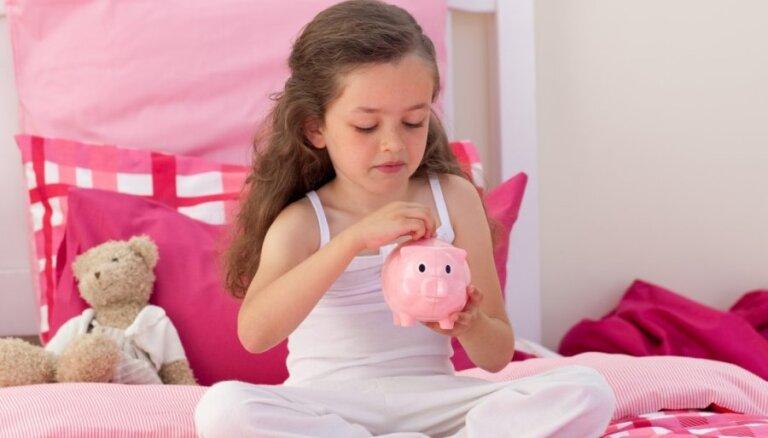 Bērna drāma veikalā – signāls sarunai par naudas rašanos un vērtību