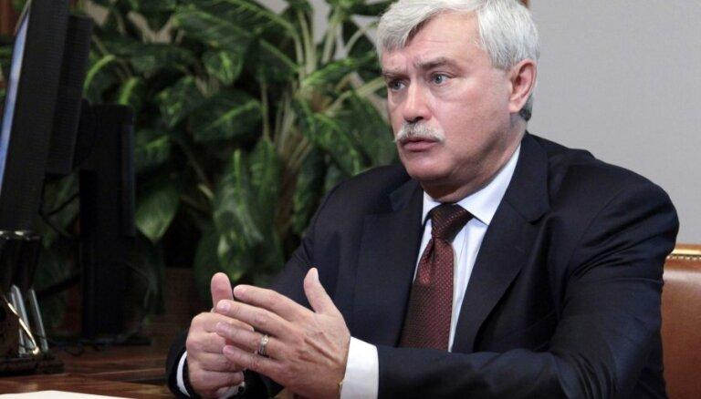 Путин принял отставку губернатора Санкт-Петербурга Полтавченко