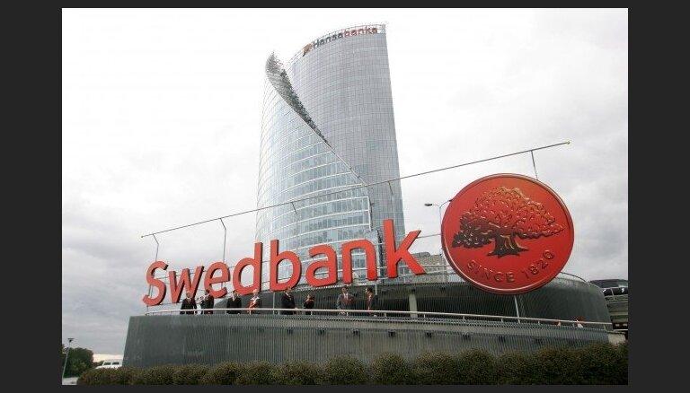 Mainīta 'Swedbank' pasta un juridiskā adrese