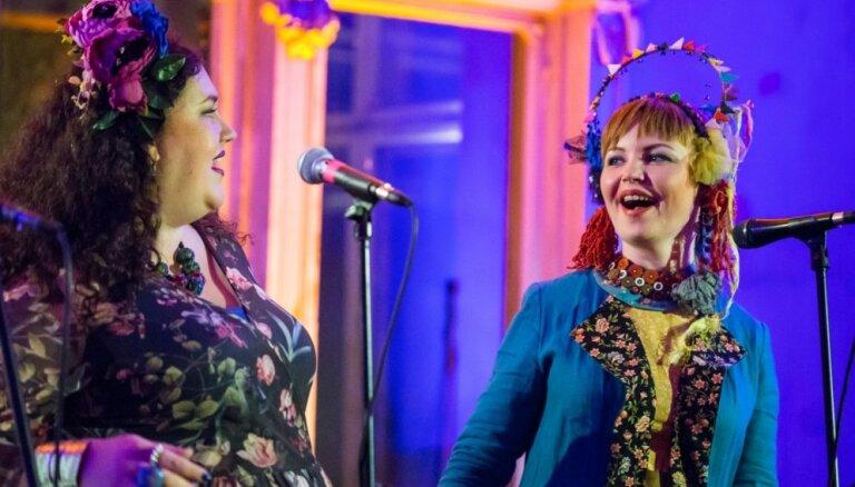 Foto: Krāšņi iesācies pasaules mūzikas festivāls 'Porta'