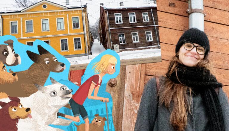 Pastaiga pa Maskačku: vietas, ko apskatīt iesaka jaunās latviešu multfilmas māksliniece