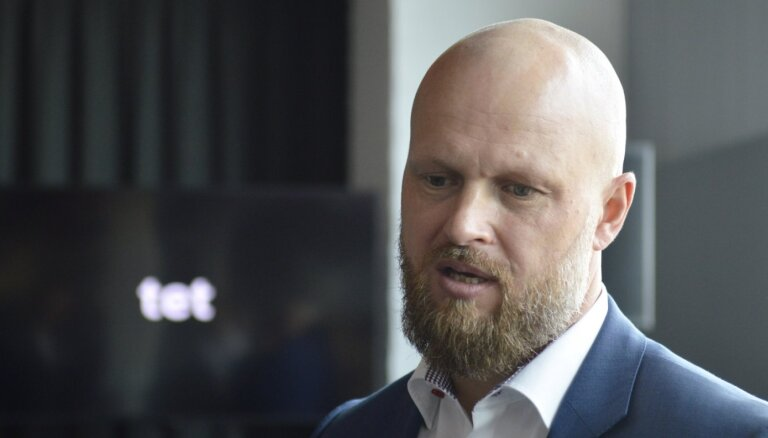 'Tet' vadītājs: ažiotāža par Krievijas kanālu retranslācijas pārtraukšanu bija lielāka nekā reālais iespaids