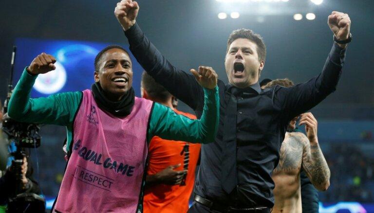 'Hotspur' galvenais treneris Početino: mani futbolisti ir varoņi